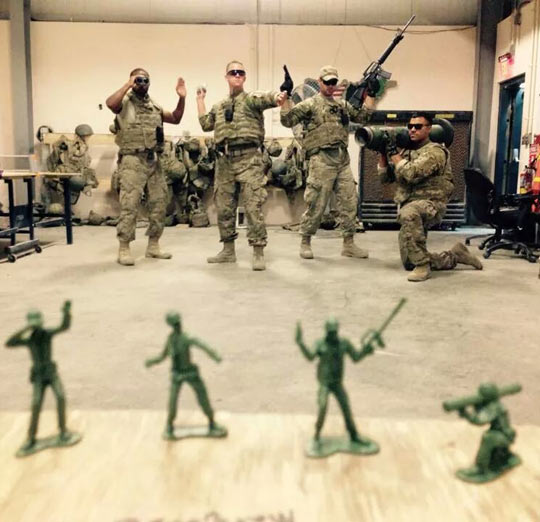 Probably The Best Deployment Photo Ever