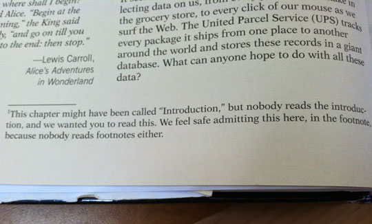 Textbook Speaks The Truth