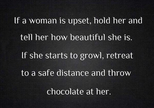 If You Notice A Woman Is Upset