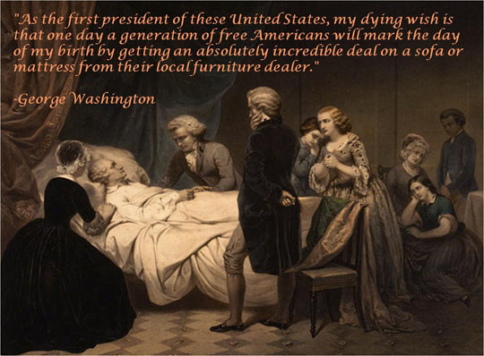 funny-George-Washington-quote-death-bed