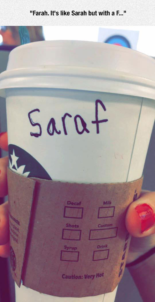Like Sarah But With A F