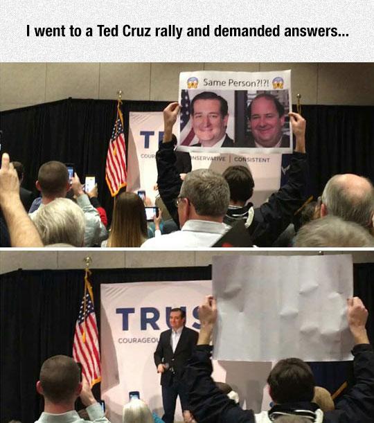Ted Cruz Rally