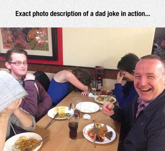 Dad Joke In Action