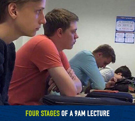 The Four Stages Of A Lecture