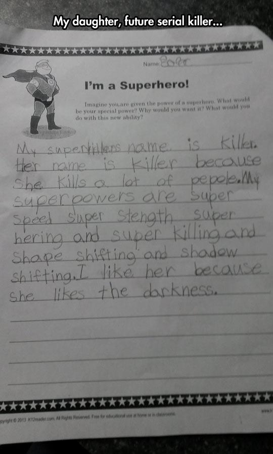 Future Serial Killer