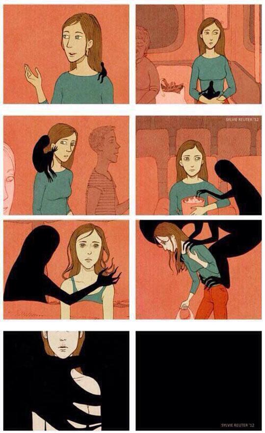 girl-darkness-growing-depression-comic