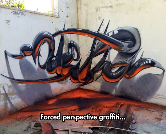 Magnificent 3D Graffiti