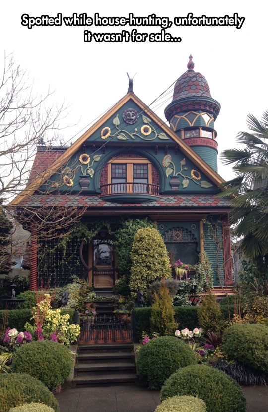 Looks Like A Magical House From A Children