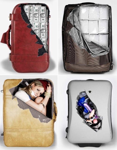 Awesome Suitcase Decals