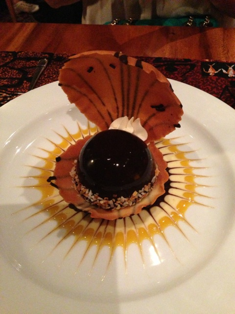 Black Pearl Dessert