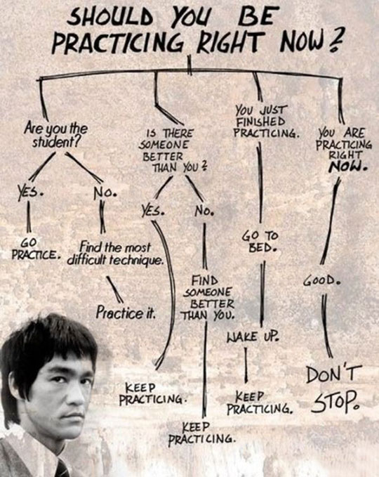 Bruce-Lee-practicing-lessons