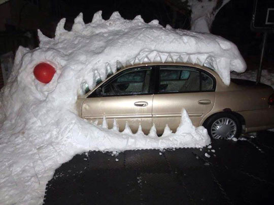 Can't Go To Work Boss, Dragon Ate My Car