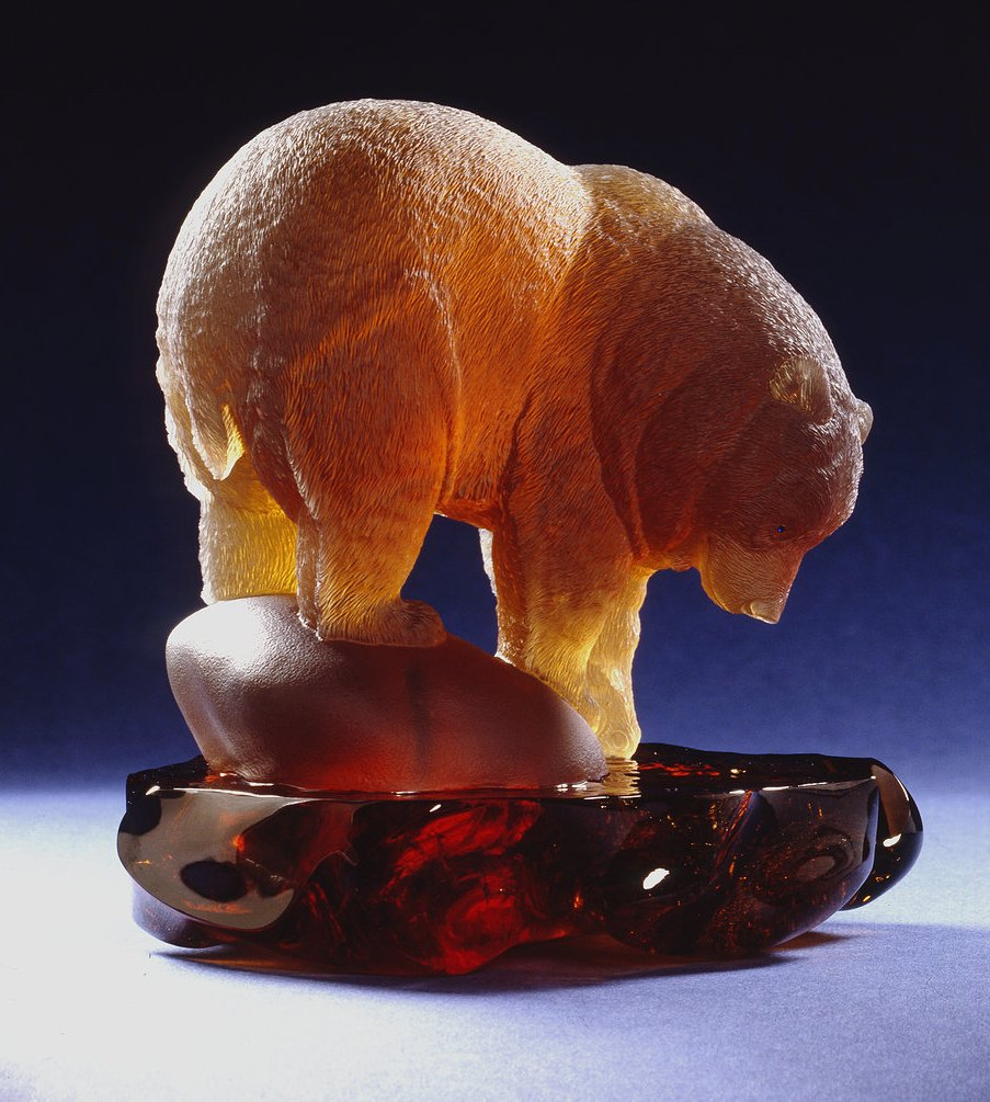 Carved from a piece of Citrine