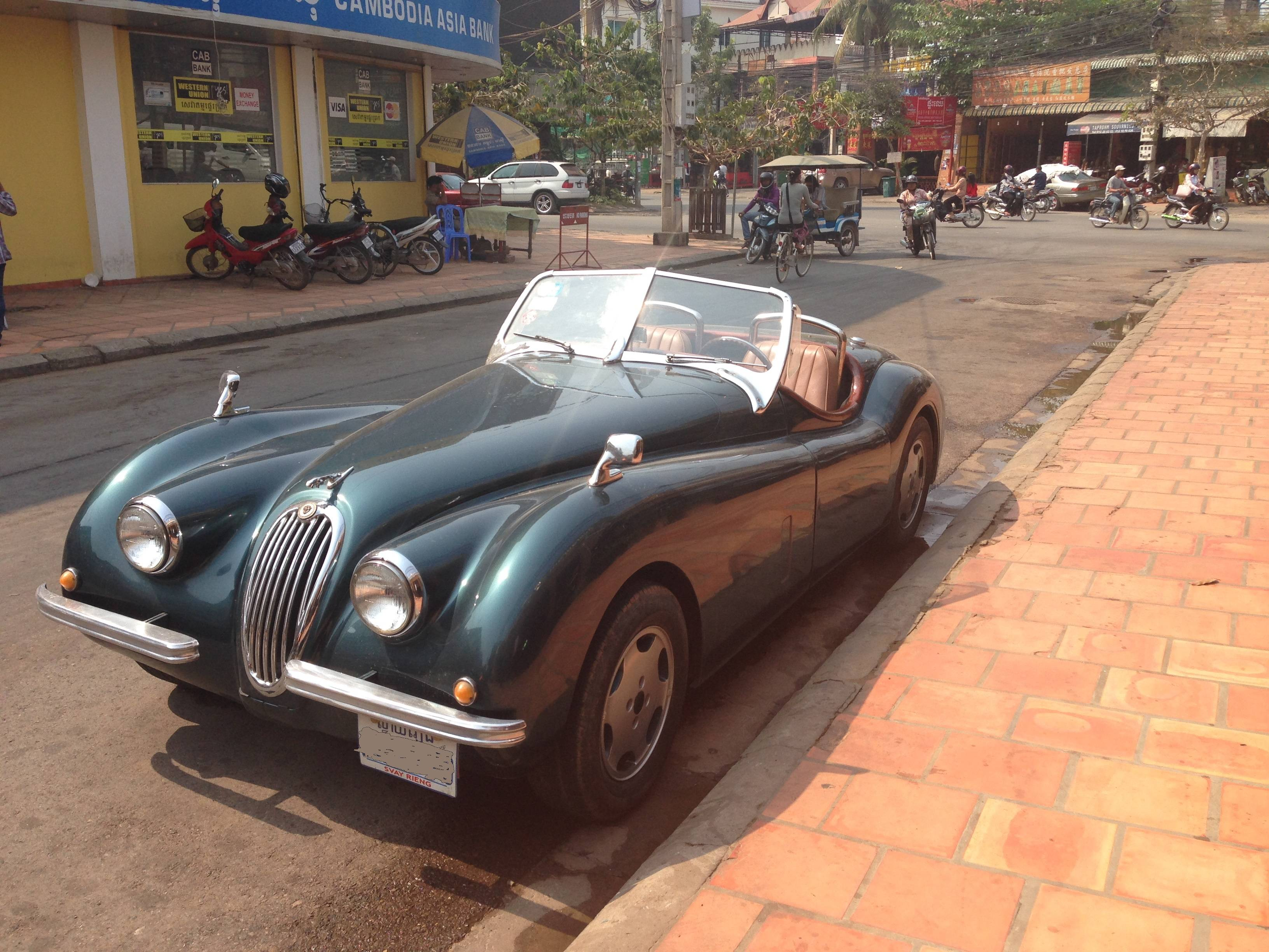 Didn't expect to see a car like this in Cambodia