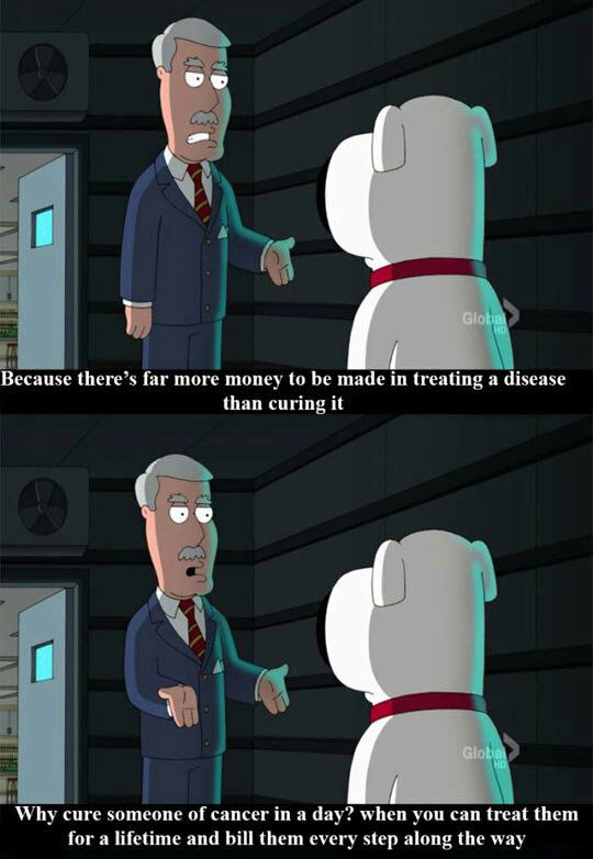 Family Guy Again Telling It Like It Is