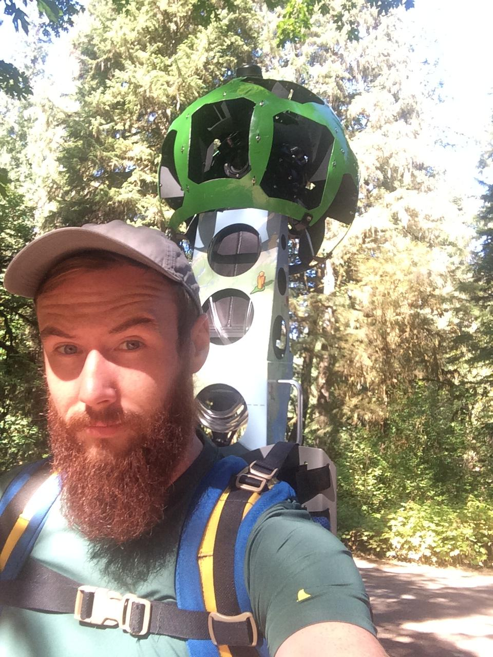Google Trekker photo had so much interest, here's my stupid face wearing one.