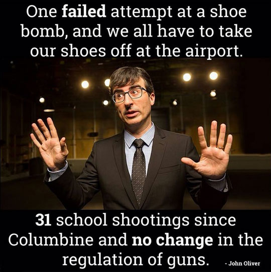 John Oliver Has A Point