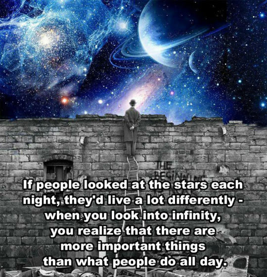 People Looked At The Stars More Often