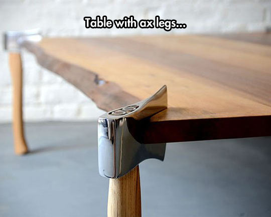 Perfect For A Lumberjack