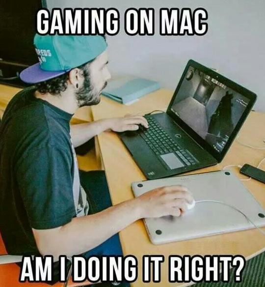 Playing Games On Mac