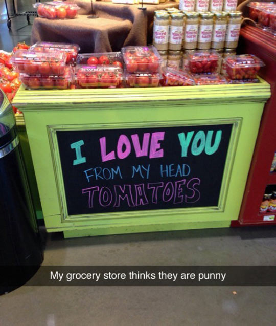 Punny Grocery Store