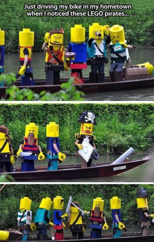 Real Life LEGO Pirates