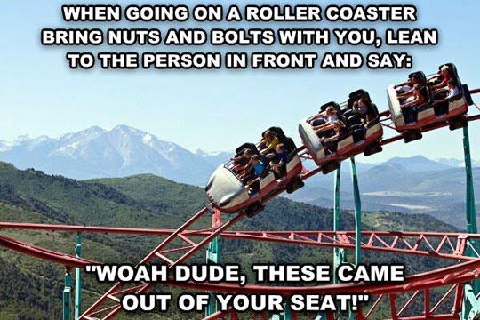 Roller Coaster Prank Idea