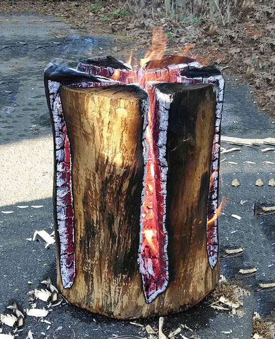 Swedish Fire Log, It