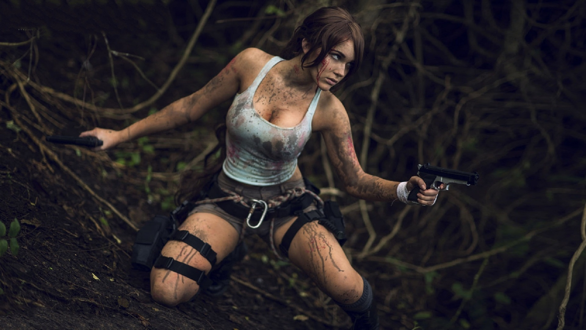 THIS is how you cosplay as lara croft