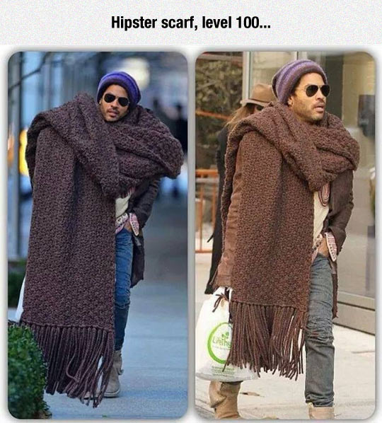 Taking Scarves To A Whole New Level