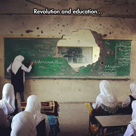 That Moment When Education Is More Important Than Anything Else