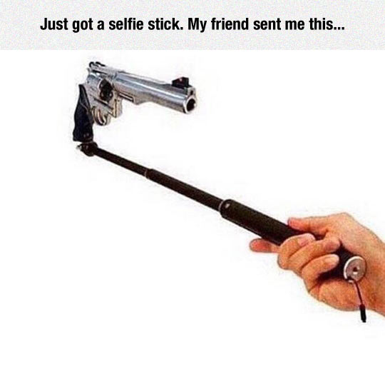 What All Selfie Sticks Should Look Like