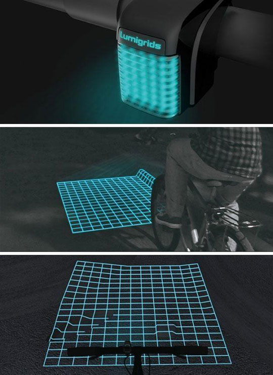 Clever Bicycle Grid Light