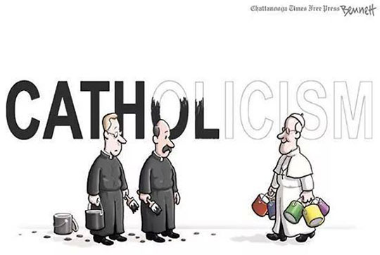 cartoon-new-pope-painting-sign-white-Francis