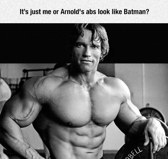The Abs Gotham Deserves