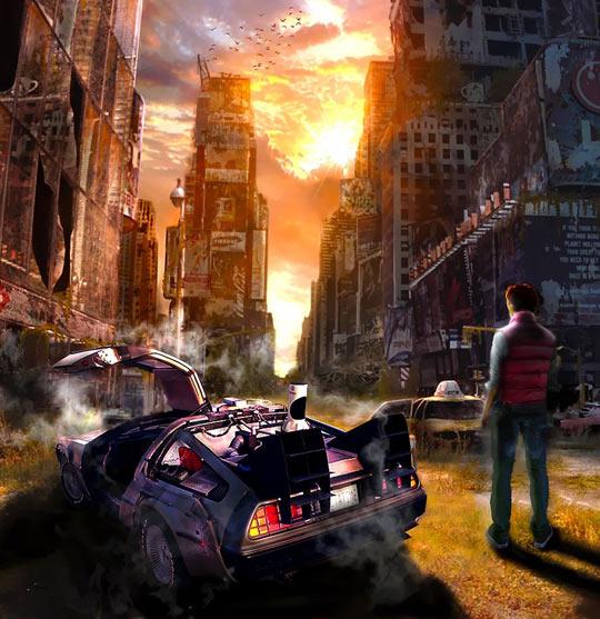 cool-Back-Future-world-destroyed-illustration