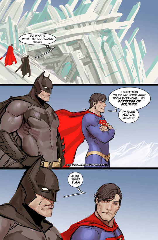 cool-Batman-Superman-Fortress-Solitude