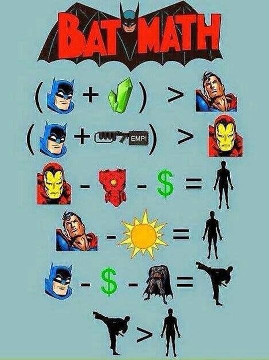 Batman Mathematics