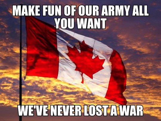 Every Canadian Knows This