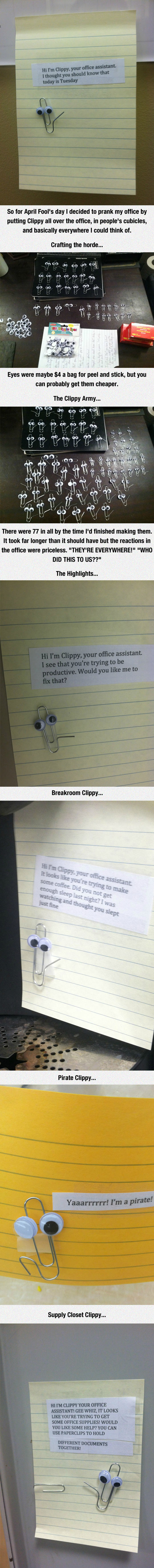 Suddenly, A Wild Clippy Appears