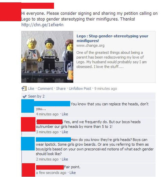Lego Stereotyping