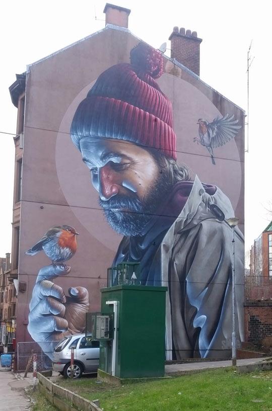 Glasgow Spray Art Done Right
