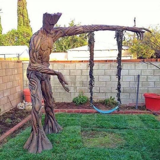 Tree Swing, Groot Style