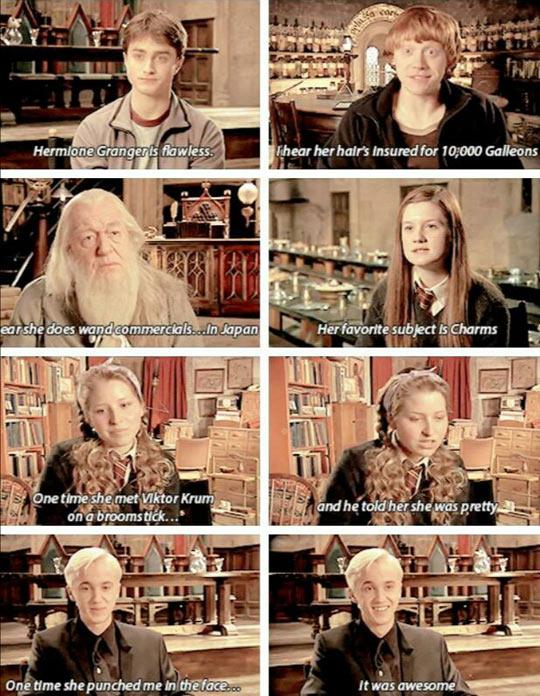Explaining Hermione Granger