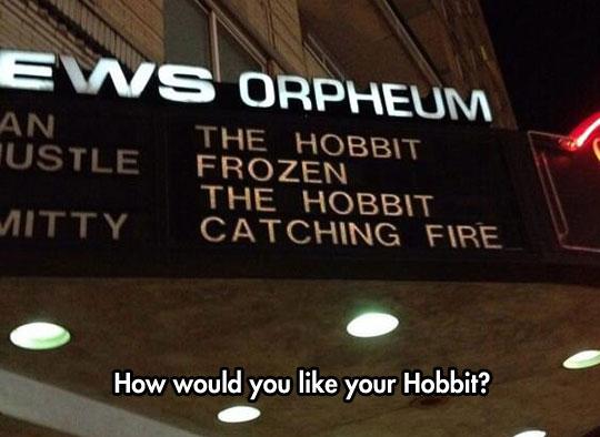 Please Choose Your Hobbit
