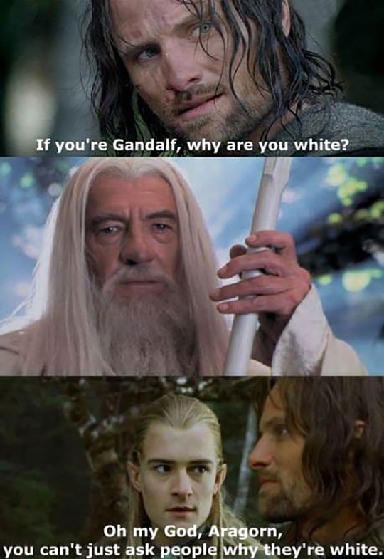 Aragorn Should Learn Some Manners