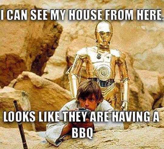 Poor Naive Luke