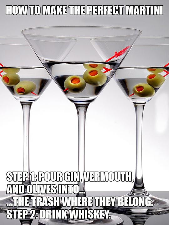 Make The Perfect Martini