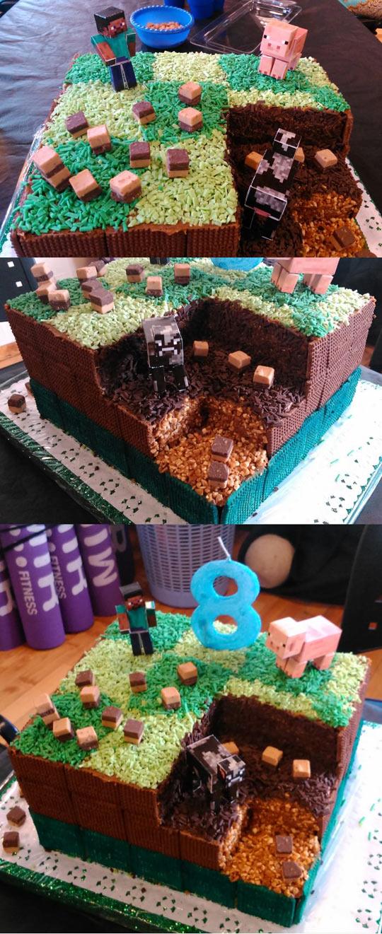 Minecraft Cake Win