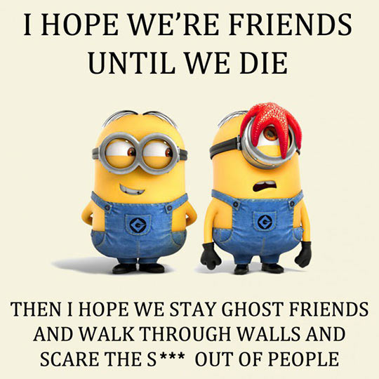 cool-Minions-friends-ghost-forever